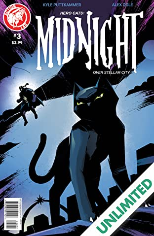 Hero Cats: Midnight Over Stellar City #3