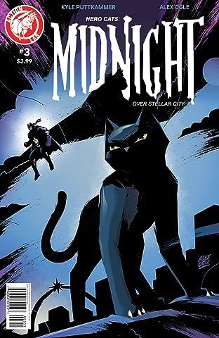 Hero Cats: Midnight Over Stellar City No.3
