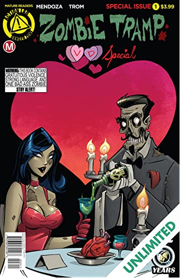 Zombie Tramp Valentine's Day Special