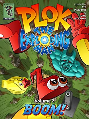 Plok The Exploding Man Vol. 2: Boom!