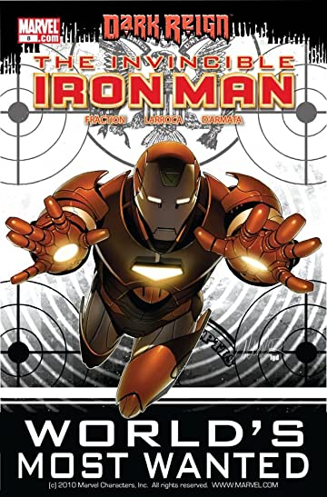 Invincible Iron Man (2008-2012) #8