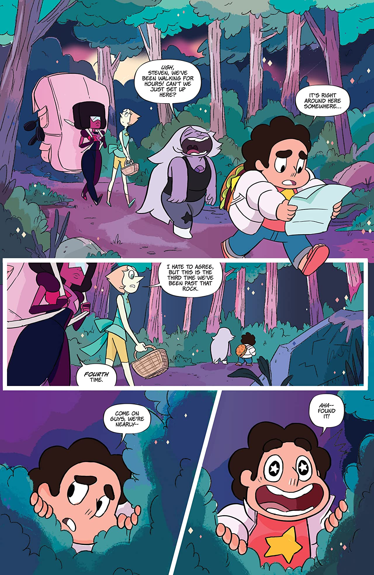 Steven Universe and the Crystal Gems #1
