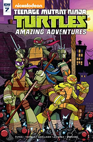 Teenage Mutant Ninja Turtles: Amazing Adventures No.7