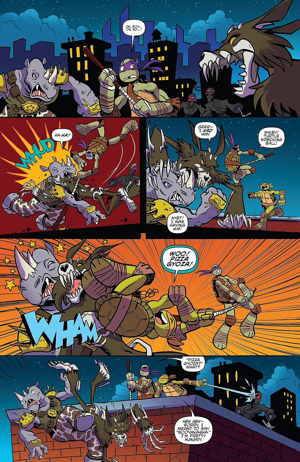 Teenage Mutant Ninja Turtles: Amazing Adventures #7