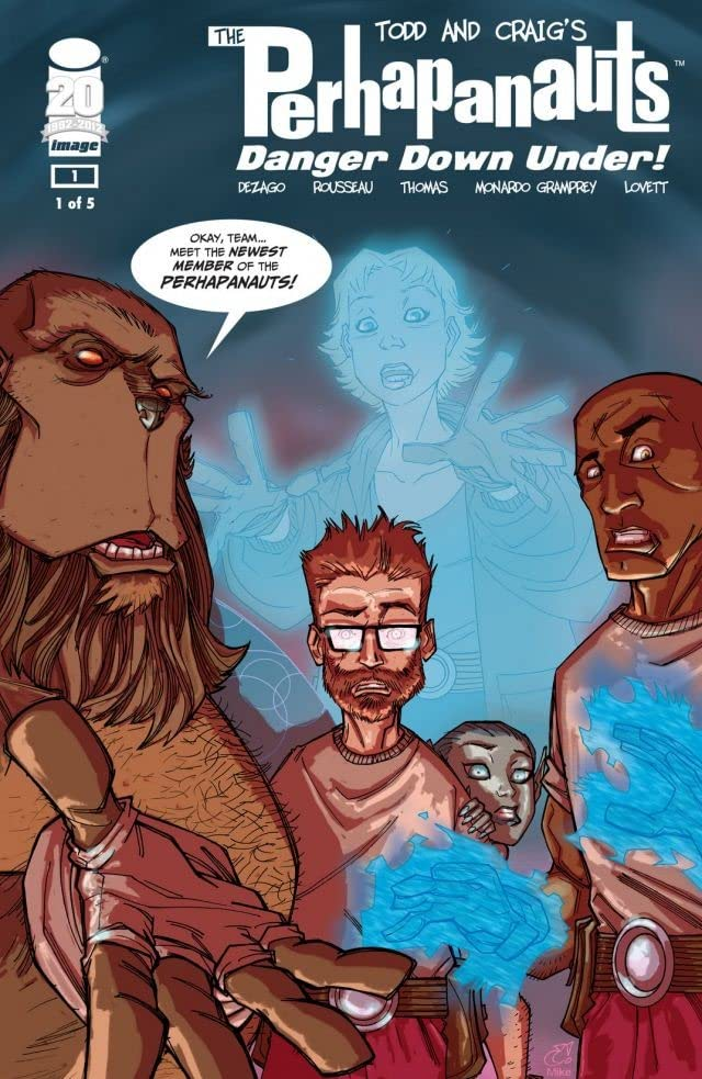 Perhapanauts: Danger Down Under #1 (of 5)