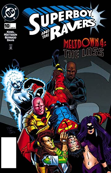 Superboy and the Ravers (1996-1998) #10