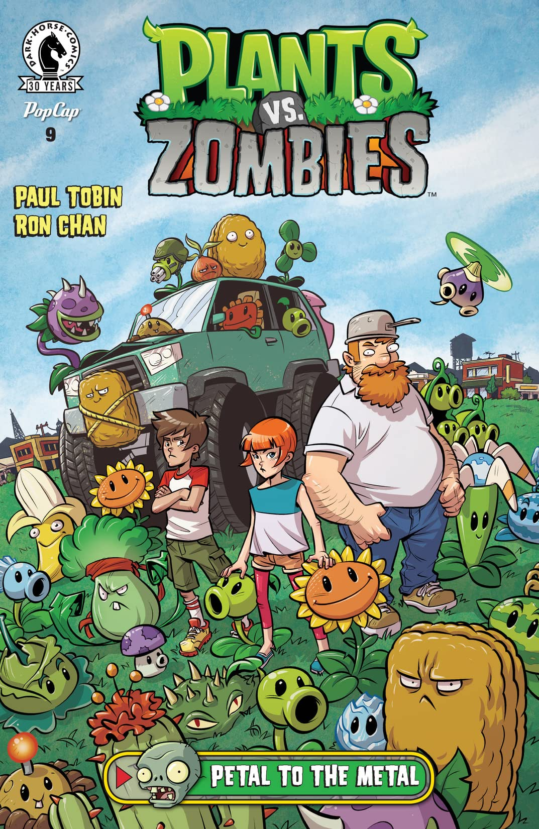 Plants vs. Zombies: Petal to the Metal #9