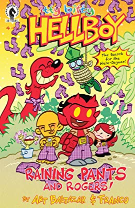 Itty Bitty Hellboy: The Search for the Were-Jaguar! #4