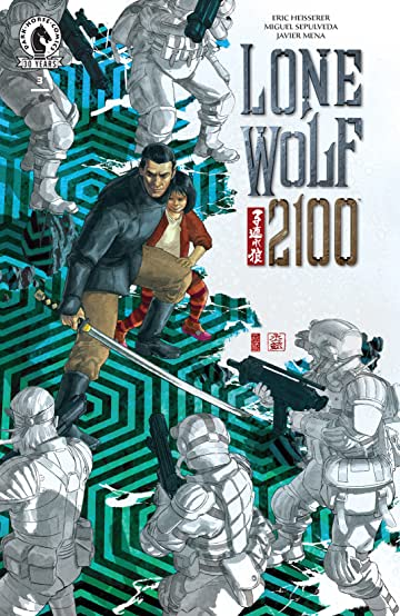 Lone Wolf 2100 #3