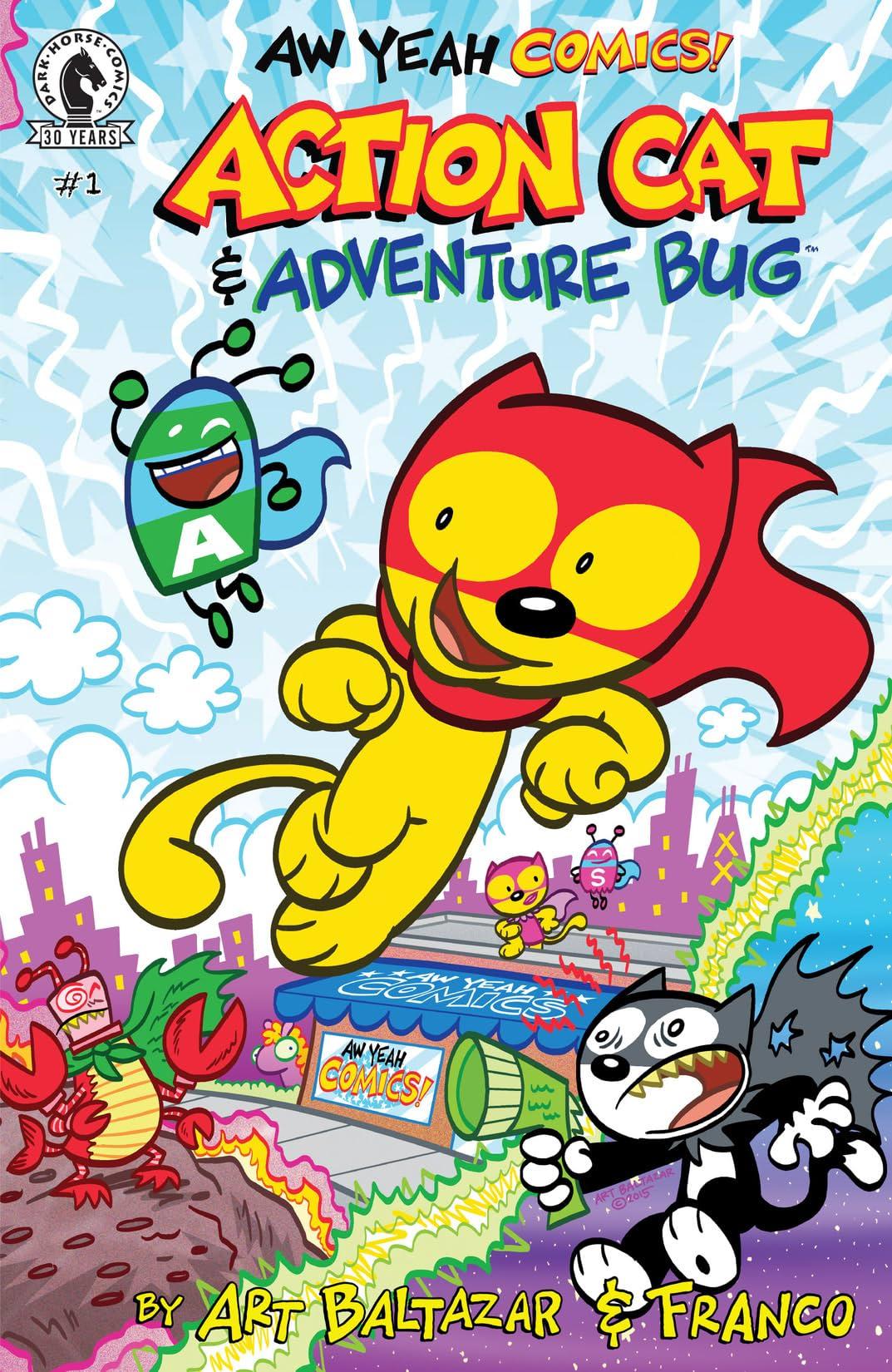 Aw Yeah Comics: Action Cat & Adventure Bug #1