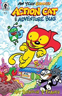 Aw Yeah Comics: Action Cat & Adventure Bug #1