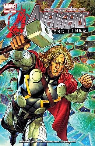 Avengers (2010-2012) #34