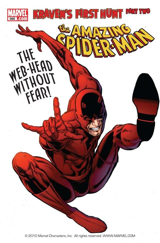 Amazing Spider-Man (1999-2013) #566