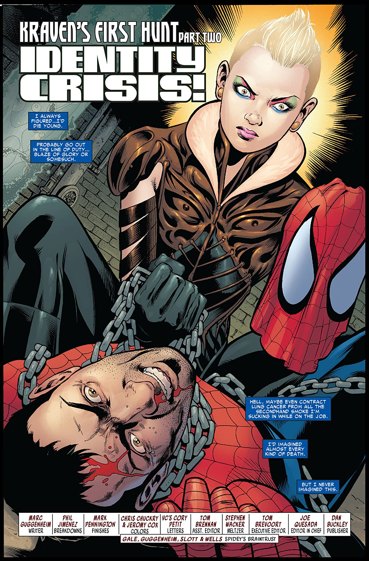 Amazing Spider-Man (1999-2013) #566