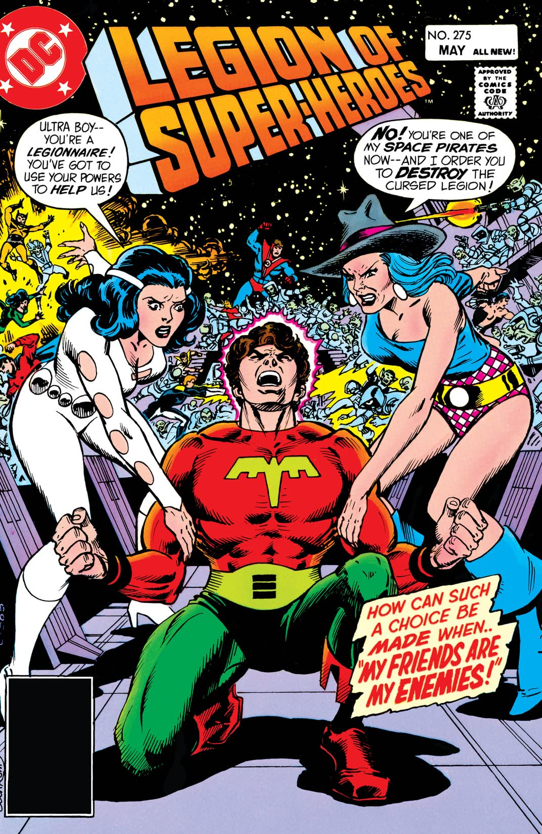 Legion of Super-Heroes (1980-1985) #275