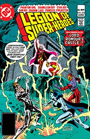 Legion of Super-Heroes (1980-1985) No.276