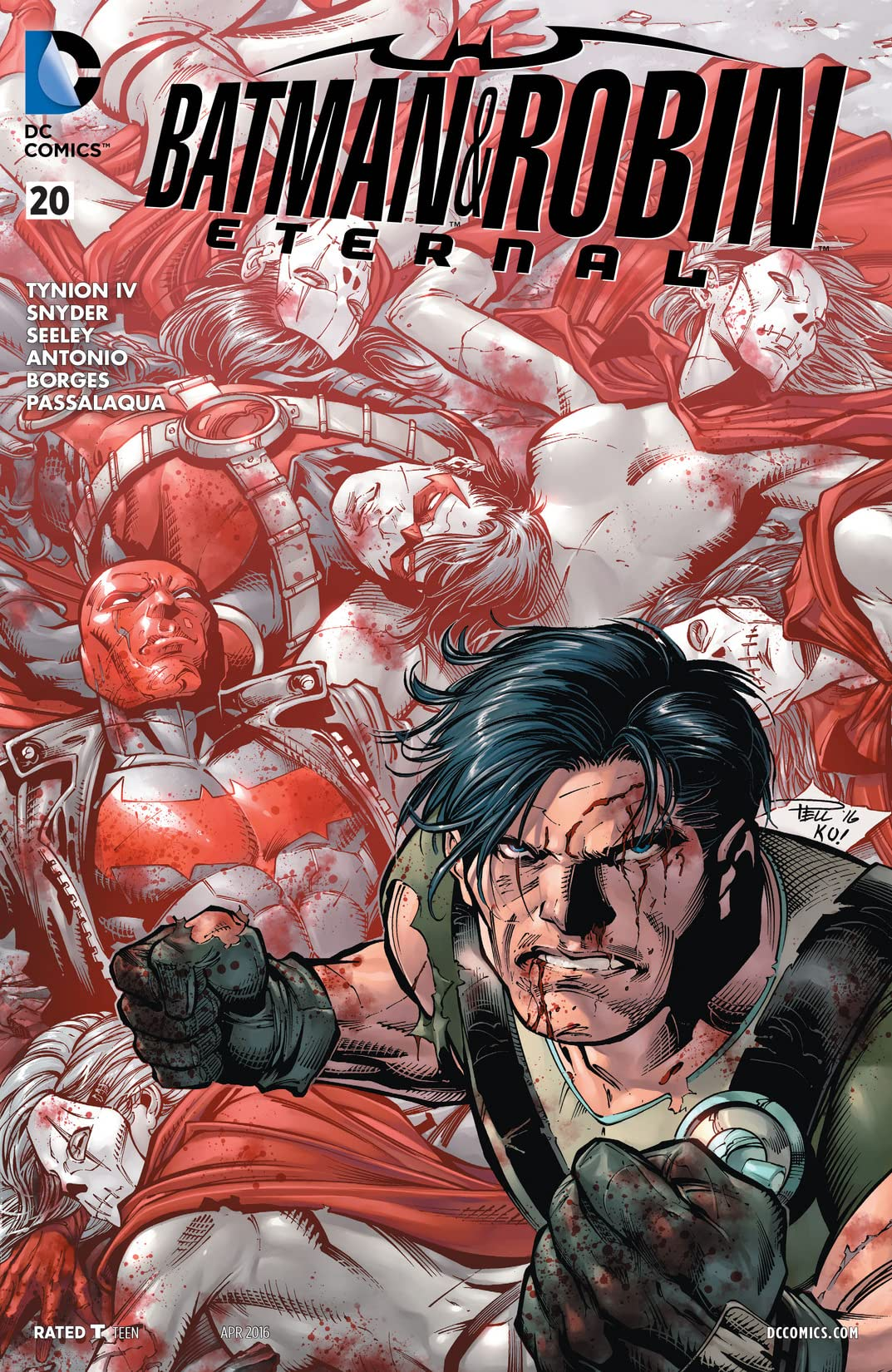 Batman & Robin Eternal (2015-2016) #20