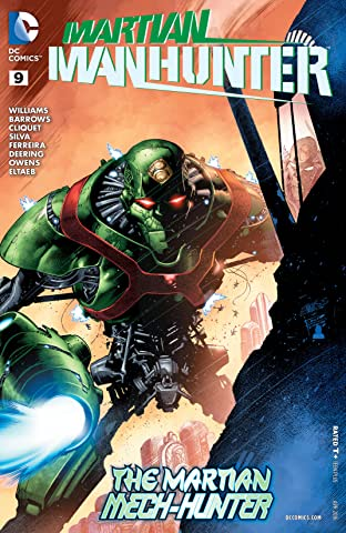 Martian Manhunter (2015-2016) #9