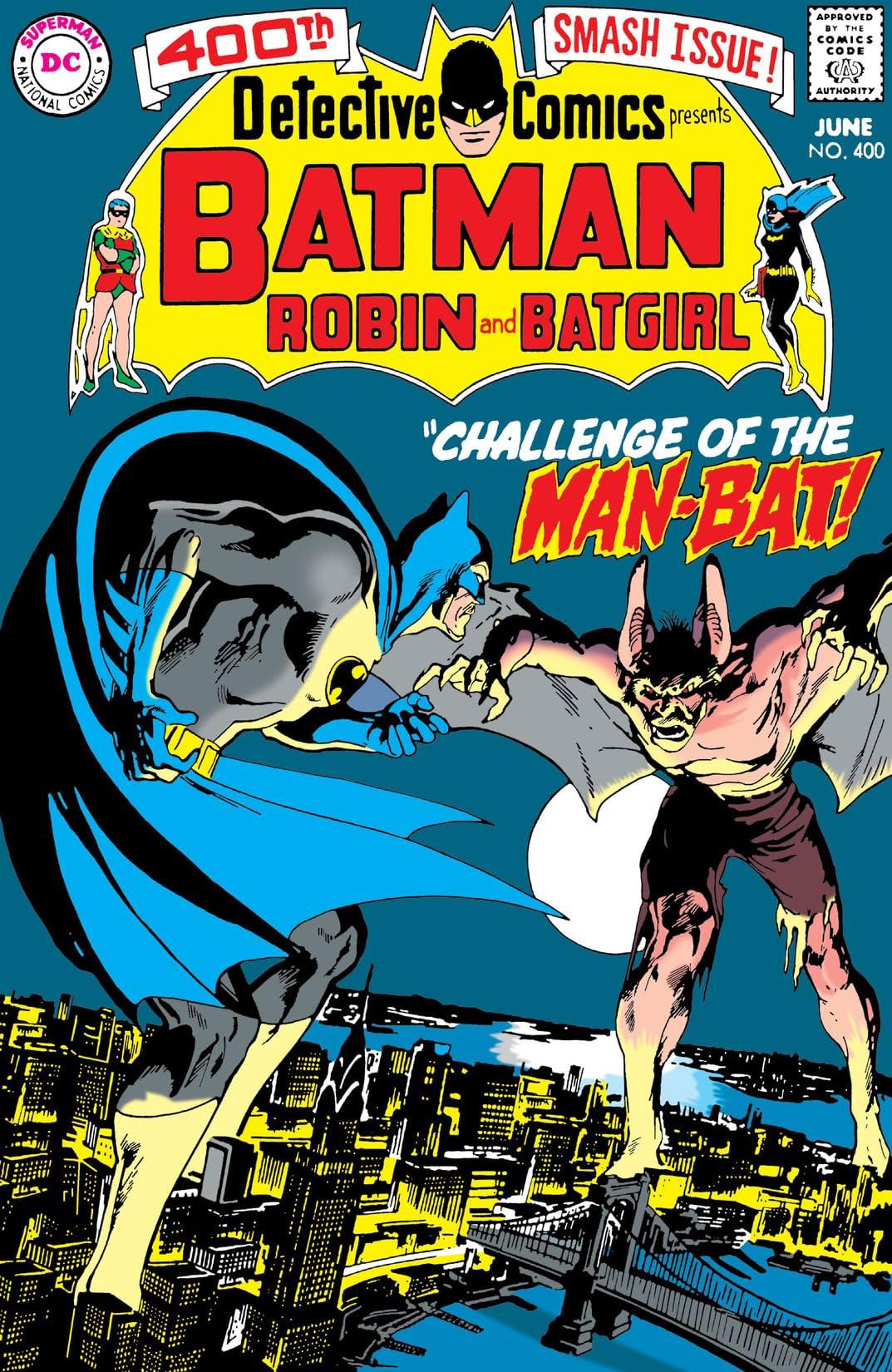 Detective Comics (1937-2011) #400
