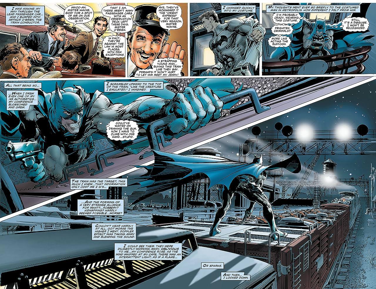 Batman: Odyssey (2010-2011) #1