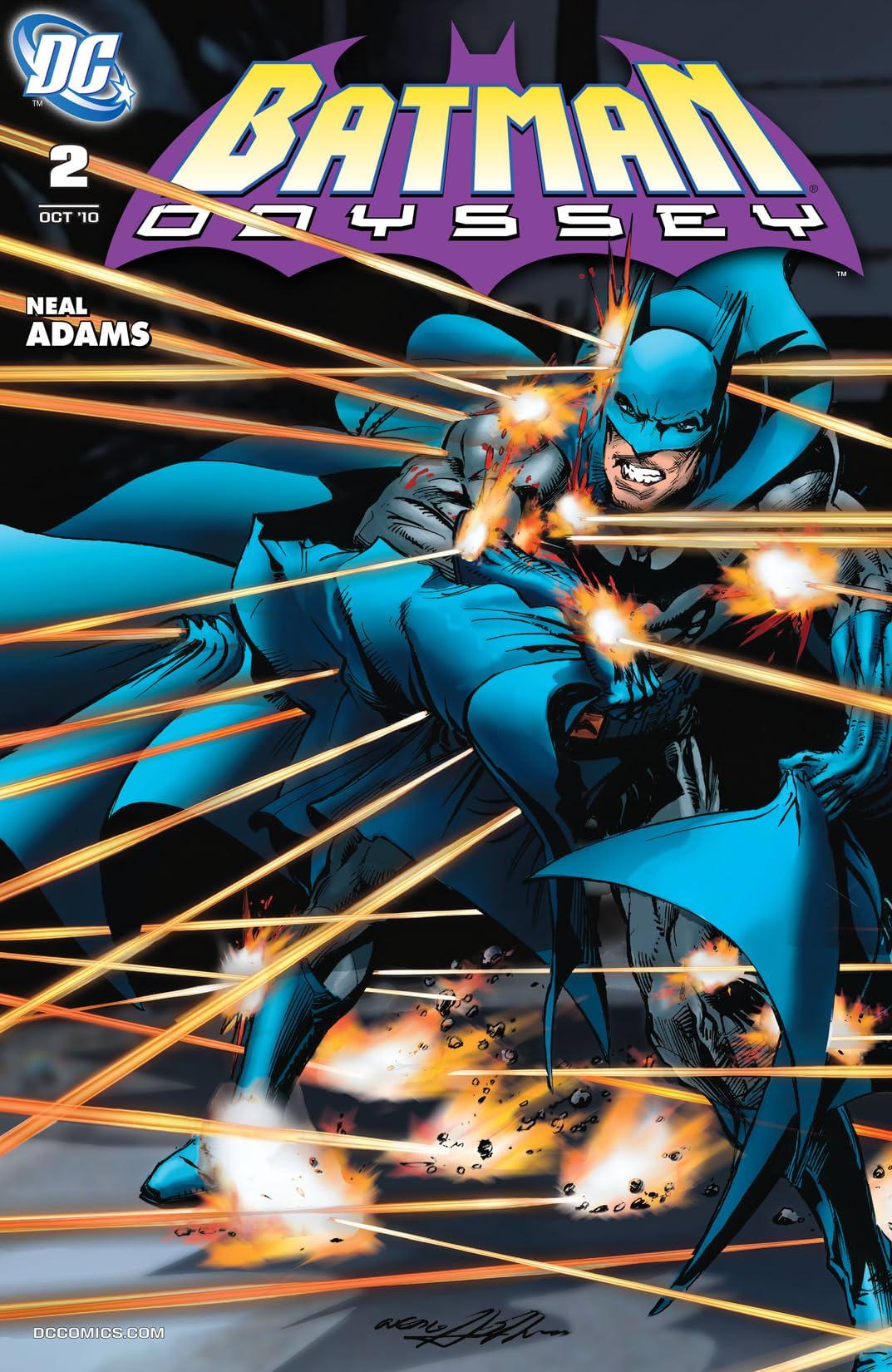Batman: Odyssey (2010-2011) #2
