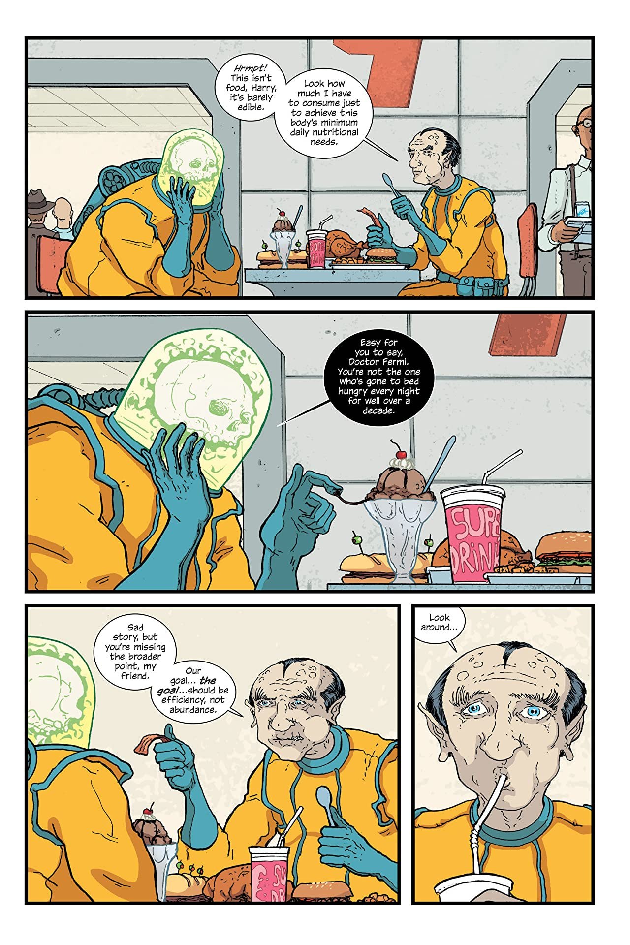 The Manhattan Projects Deluxe Edition Vol. 2