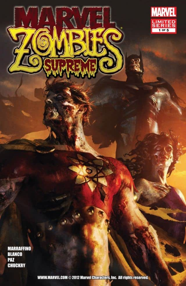 Marvel Zombies Supreme #1 (of 5)