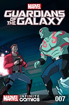 Marvel Universe Guardians of the Galaxy Infinite Comic #7