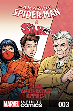 Amazing Spider-Man & Silk: Spider(Fly) Effect Infinite Comic #3