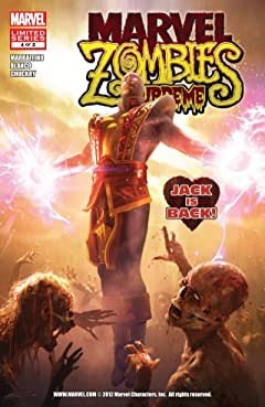 Marvel Zombies Supreme No.4 (sur 5)