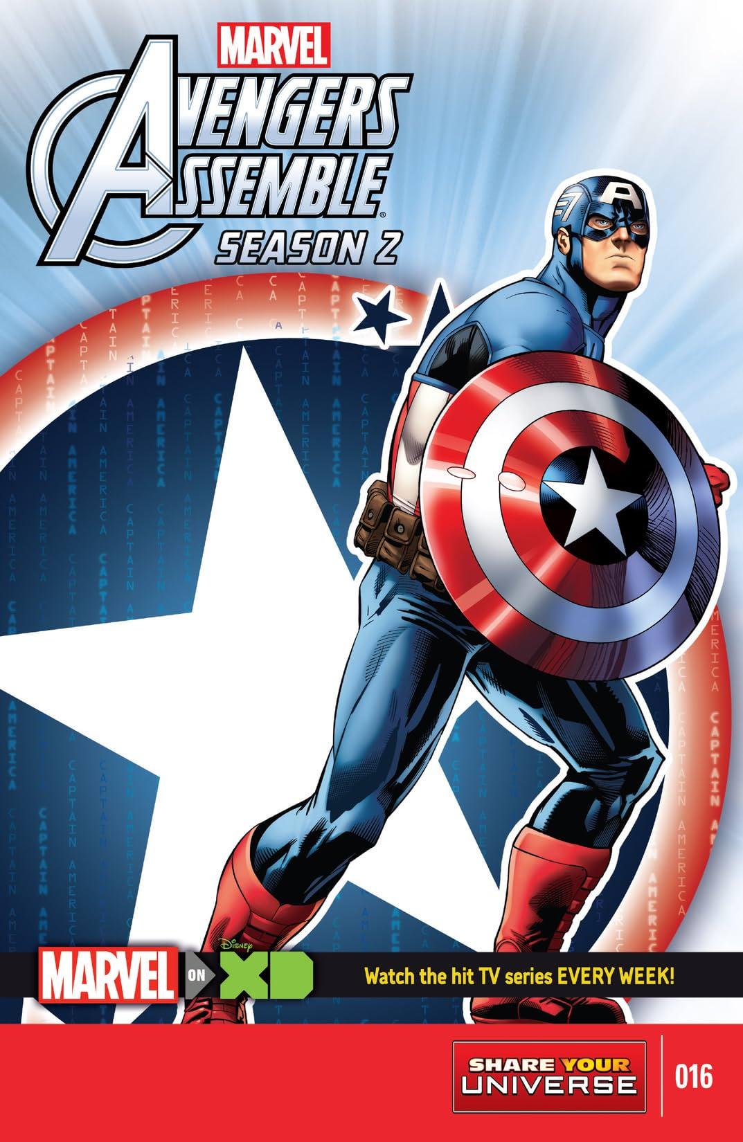 Marvel Universe Avengers Assemble Season Two (2014-2016) #16