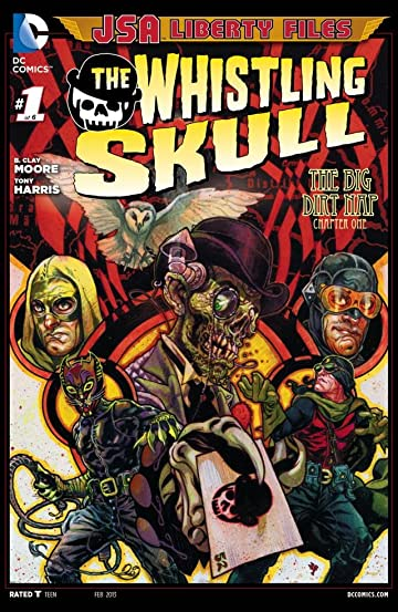 JSA Liberty Files: The Whistling Skull (2012) #1