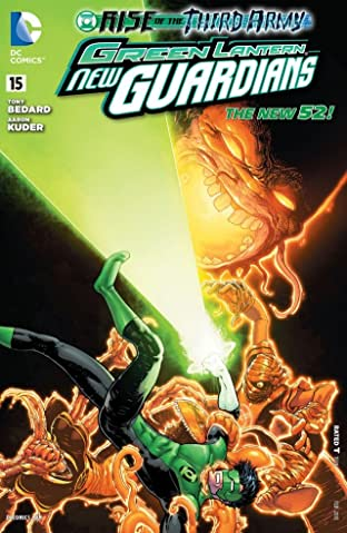 Green Lantern: New Guardians (2011-2015) No.15