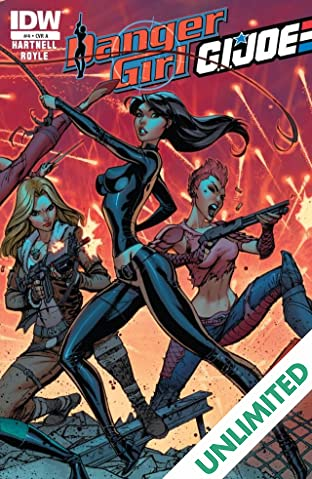 Danger Girl/G.I. Joe #4 (of 5)