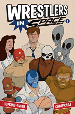 Wrestlers In Space #1