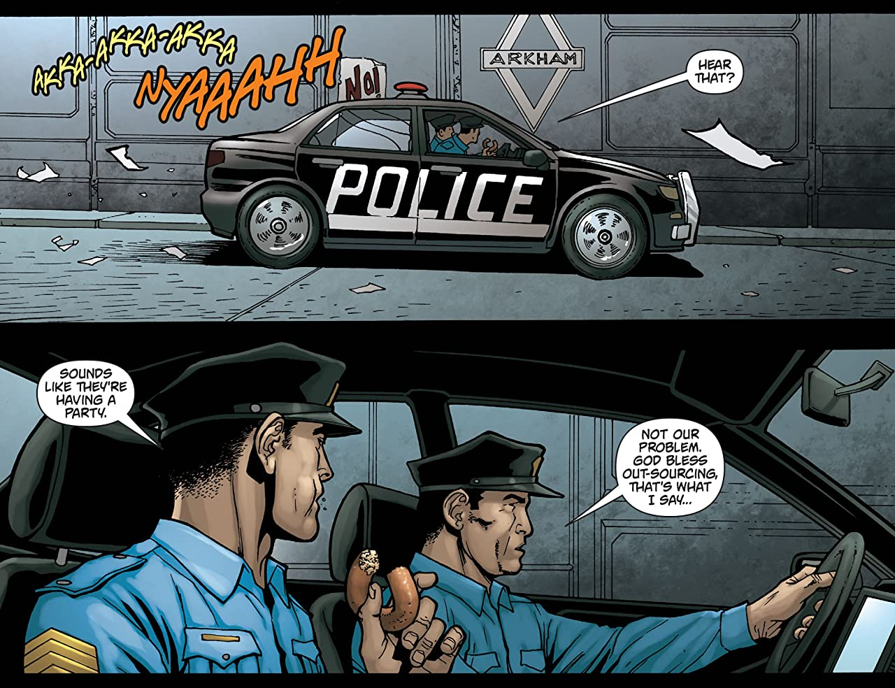 Batman: Arkham Unhinged #56