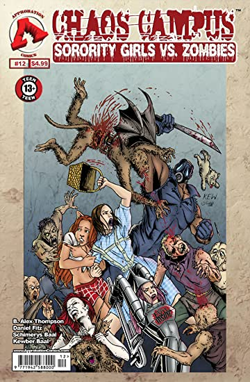 Chaos Campus: Sorority Girls vs. Zombies #12