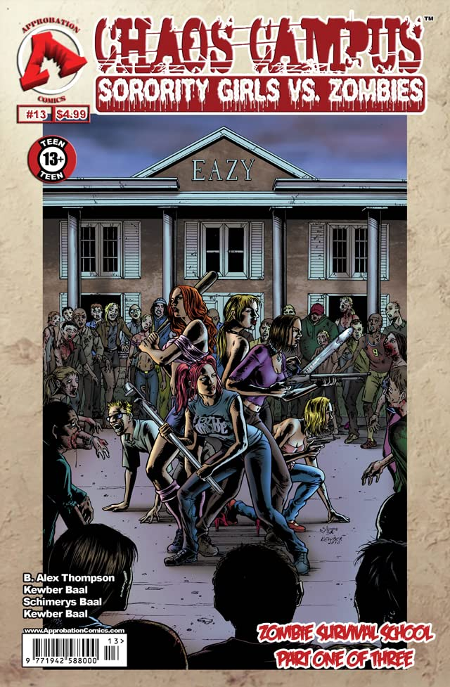 Chaos Campus: Sorority Girls vs. Zombies #13