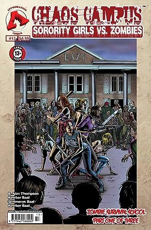 Chaos Campus: Sorority Girls vs. Zombies No.13
