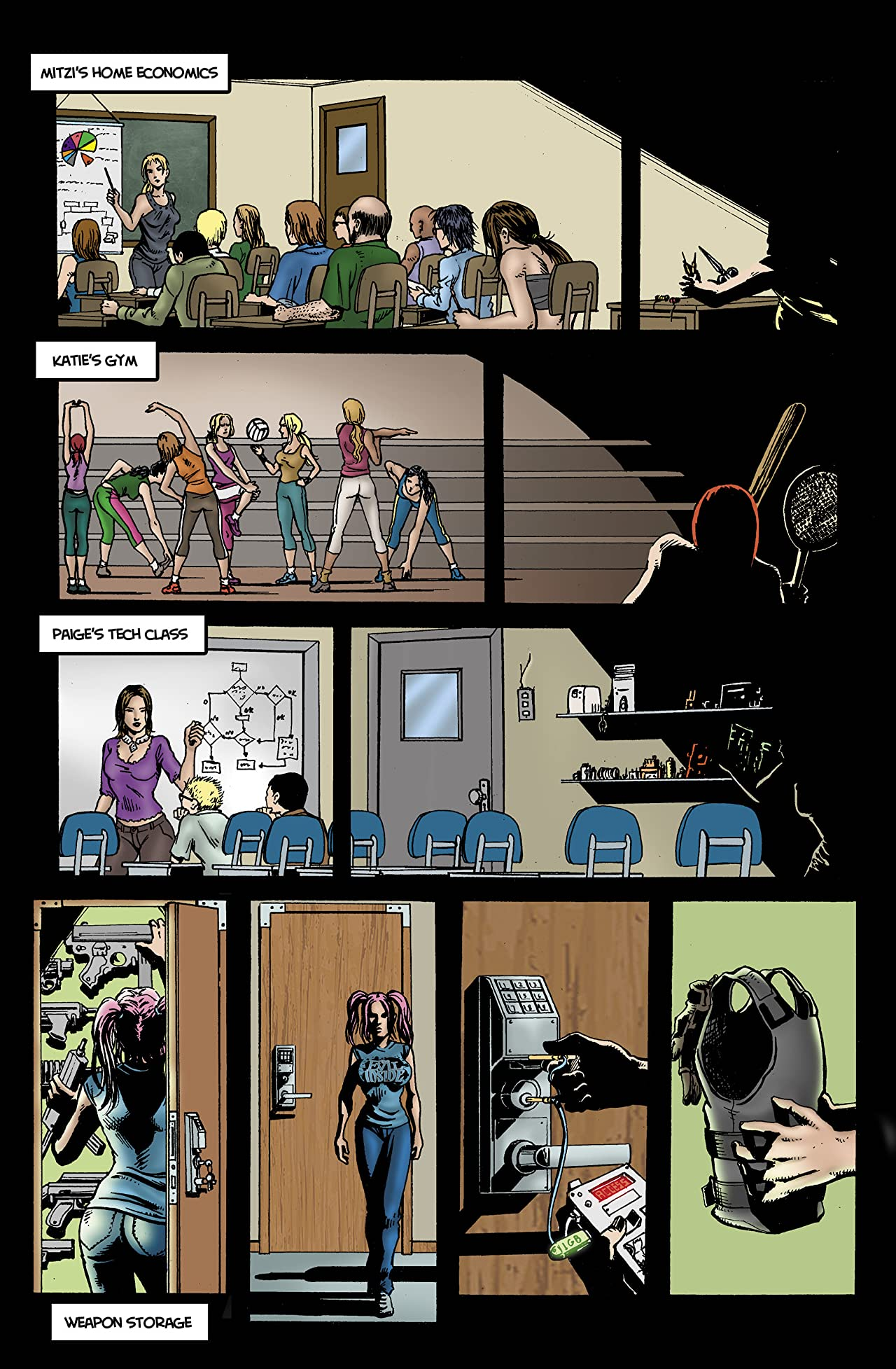 Chaos Campus: Sorority Girls vs. Zombies #14