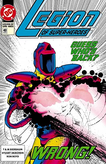 Legion of Super-Heroes (1989-2000) #40