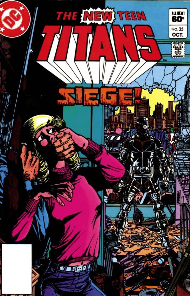 New Teen Titans (1980-1988) #35