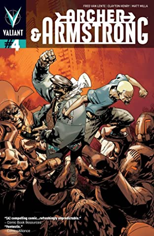Archer & Armstrong (2012- ) #4: Digital Exclusives Edition