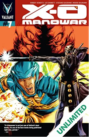 X-O Manowar (2012- ) #7: Digital Exclusives Edition