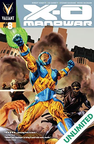 X-O Manowar (2012- ) #8: Digital Exclusives Edition