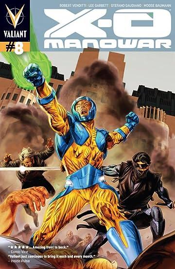 X-O Manowar (2012- ) #8: Digital Exclusives Edition