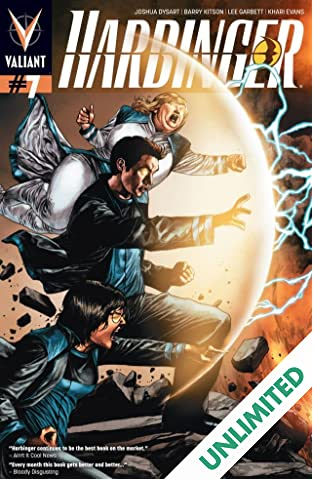 Harbinger (2012- ) #7: Digital Exclusives Edition