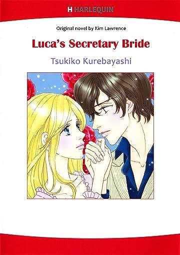 LUCA'S SECRETARY BRIDE