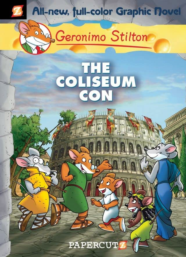 Geronimo Stilton Vol. 3: The Coliseum Con Preview