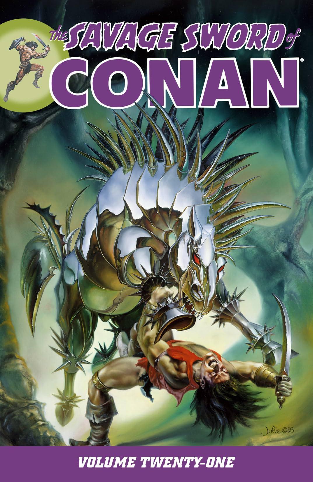 The Savage Sword of Conan Vol. 21